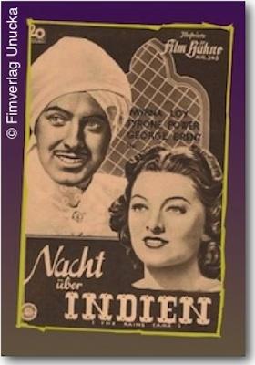 Nacht über Indien
