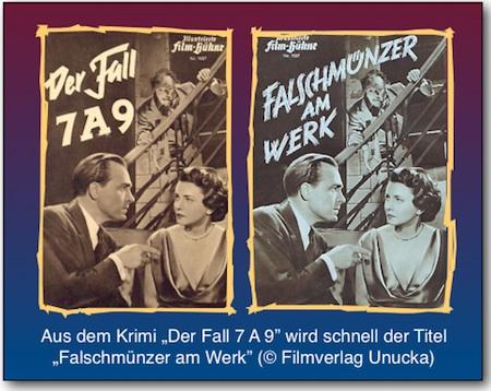 Falschmünzer am Werk - Der Fall 7 A 9